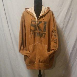 Long sleeve zip up hoodie